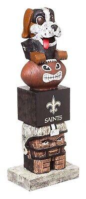 New Orleans Saints Tiki Totem Pole 16