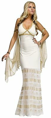 Golden Goddess Costume for Adults S/M & M/L New by Fun World 124294 - M & M Costumes For Adults