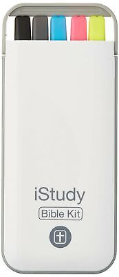 Istudy Bible Kit - 3 Highlighters 1 Pen 1 Mechanical Pencil With Compact St...
