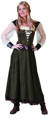 Robin Hood Kostüm Damen Marie Anne Magd Farmerin Mittelalter Karneval Fasching
