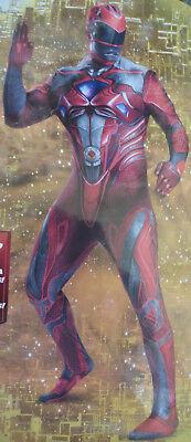 RED RANGER Cosplay Costume Bodysuit, Various Sizes, NWT (Red Ranger Cosplay Kostüm)