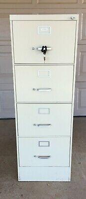 4 Drawer Locking Metal File Cabinet Legal Size