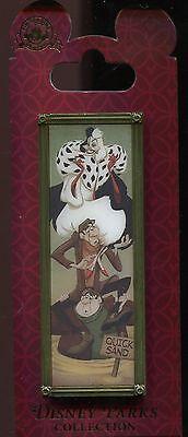 Haunted Mansion Stretch Portrait Cruella De Vil Horace Jasper Disney Pin 102753