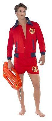 SMIFFY 20587 Baywatch Lifeguard Rettungsschwimmer Karneval Herren Kostüm Lizenz (Life Guard Kostüm)
