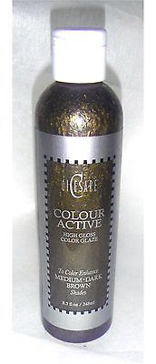 - Dicesare Color Active High Gloss Color GLAZE Brown Adds Shine Enhance Color