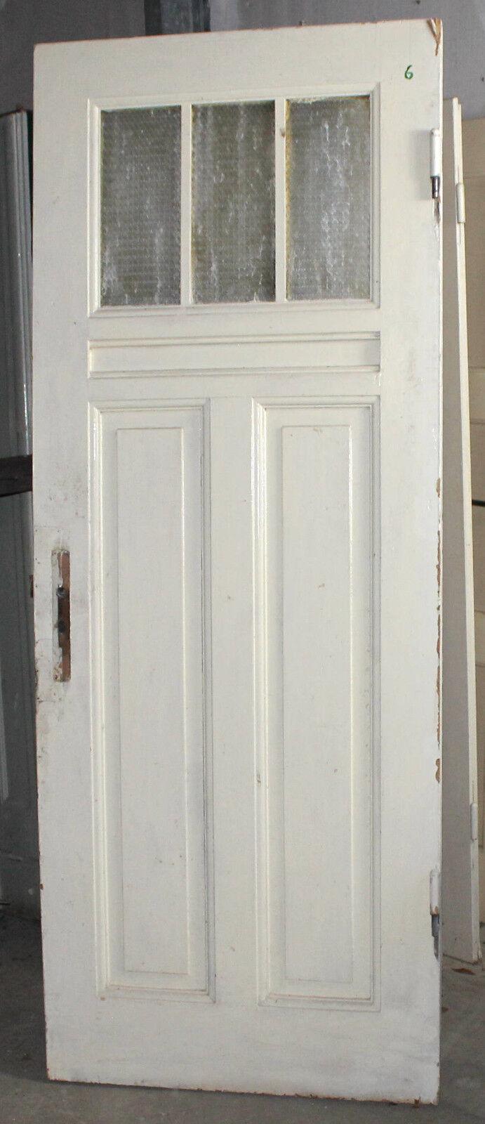Haustür antik 2 Flügel Rahmenteile Oberlicht Tür