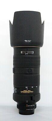 """# Nikon NIKKOR 80-200mm f/2.8 AF-S D IF ED Lens - """"Mint"""" S/N 234461"""