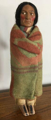Vintage Native American Indian Skookum Doll #2