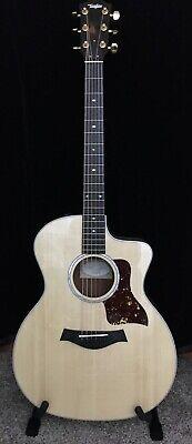 Taylor 214ce Black Limba LTD Acoustic Electric Guitar