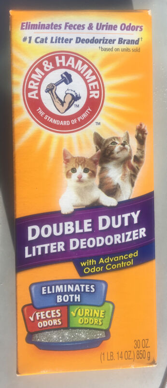 Pack of 12 Arm & Hammer Cat Litter Deodorizer Double Duty, 30oz.