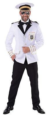 Kapitän Jacke Matrosen Kostüm Jacket Mariene Seemann Offizier Captain - Kapitän Mann Kostüm