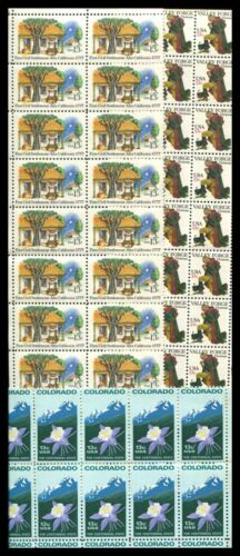 U.S. DISCOUNT POSTAGE LOT OF 100 13¢ STAMPS, FACE $13.00