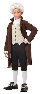 Child Benjamin Franklin Colonial Man Costume - Benjamin Franklin Costume