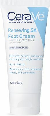 CeraVe Foot Cream with Salicylic Acid | 3 Ounce | Foot Cream