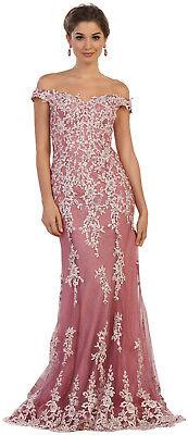 Red Carpet Sale (SALE ! PAGEANT OFF SHOULDER RED CARPET DRESS FORMAL PROM SWEET 16 EVENING)