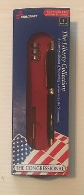 Skilcraft Laser Pointer Pen The Congressional Government Pen Black Ink New