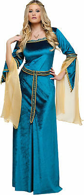 Renaissance Princess Adult Womens Costume Medieval Tribe Theme Party Halloween
