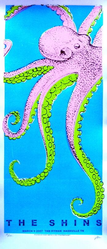 The Shins Concert Poster 2007 Print Mafia Nashville