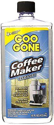 COFFEEMAKER CLEANER deplete b empty Coffee Maker & Expresso machine 16 oz GOO GONE 1795