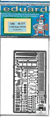 Eduard F-18E Super Hornet Photo Etch Details 1/48 377 For Italeri Kit ST