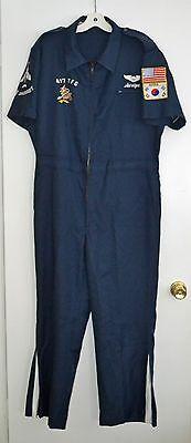 "Authentic US Air Force 1970's 497th T.F.S ""Nite Owls"" Cold War Pilot Party Suit"