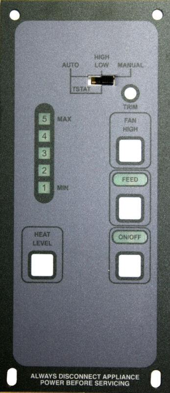 KOZI Pellet Stove Digital Control Replacement:Brand New Direct From Manufacturer