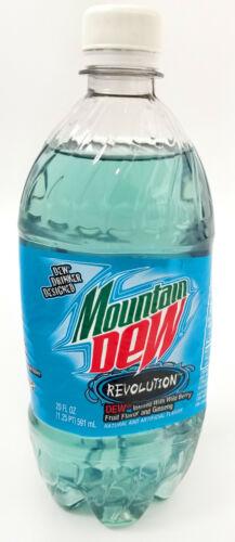 Mountain Dew Revolution Unopened Full Bottle Wild Berry Ginsing 2008 DEWmocracy