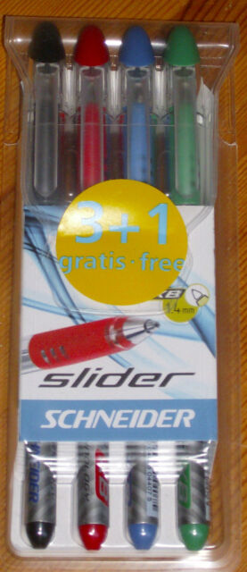 Schneider Slider XB 1,4 mm 4er Set!!Neu & OVP