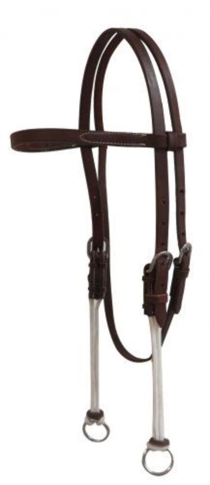 Showman RED Premium Nylon One Ear Western Headstall NEW HORSE TACK!
