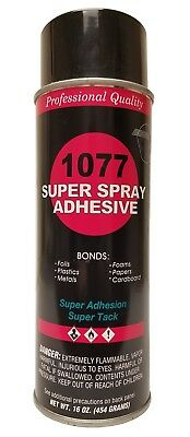 Vs 1077 Super Spray Adhesive Fine Mist Spray Pattern