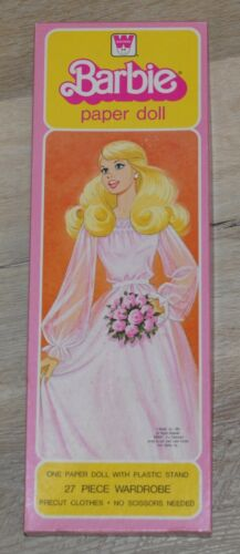 Vintage Barbie Paper Doll 1981 Western Publishing Company