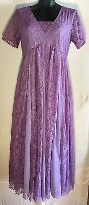 New! Women's Purple Wisteria Elegant Lace polyester dress formal The Paragon - Wisteria Dress