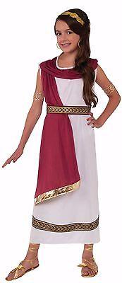 Child Roman Greek Goddess Toga Costume - Kids Greek Costume