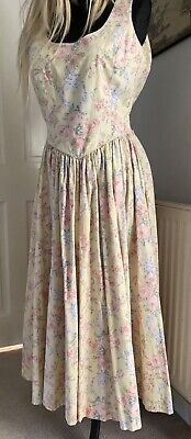 Laura Ashley vintage midi dress size 10