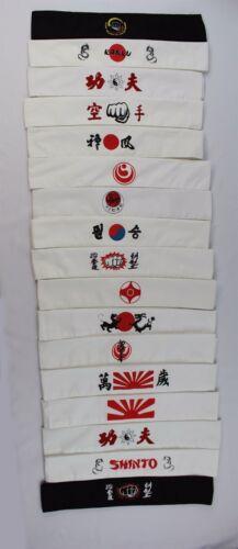 Japanese Karate Headband 100% Cotton