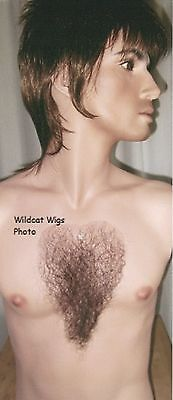 CHEST HAIR .. Professional Quality .. For Stage or Halloween.. Austin Powers!  - Austin Powers Halloween
