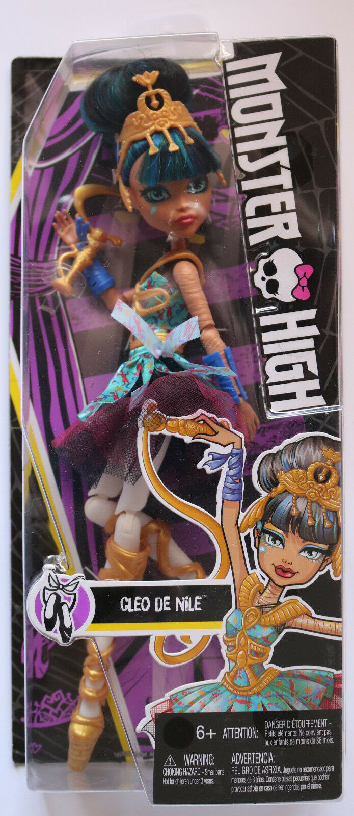 Details About Monster High Ballerina Ghouls Cleo De Nile Doll Brand New Super Well Packed