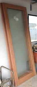 New Beautiful Raw Timber with Toughended Glass Doors For Sale Cairns Cairns City Preview