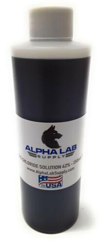 Ferric Chloride Solution 42% - 250ML (8oz) PCB Etchant