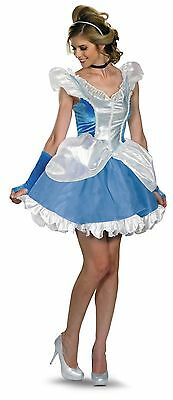 NWT DISNEY ADULT SASSY CINDERELLA SEXY HALLOWEEN COSTUME - Disney Halloween Outfits