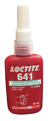 Loctite 641 Retaining Compound Bonding Cylindrical Fitting Parts 50ml New Price