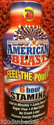 2008 American Old Glory Blast Energy Shot Drink Full Rare 2 Oz Only 1 Production
