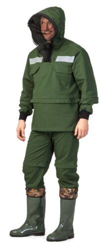Hunting Fishing Hiking Forest Antiencephalitic Mosquito Suit   Jacket Pants Set