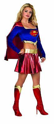 Supergirl Kostüm Damenkostüm Superman Superheld Kara Zor-El Heldin - Superhelden Damen