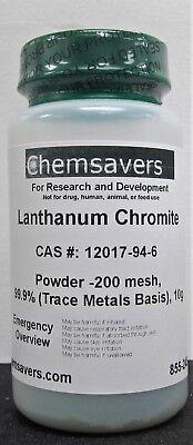 Lanthanum Chromite Powder -200 Mesh 99.9 Trace Metals Basis 10g