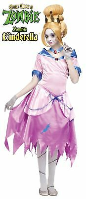 Once Upon a Zombie Cinderella Child Costume Extra Large 14-16