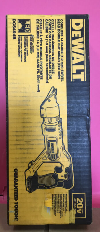 Dewalt-DCS494B 20V MAX 14-Gauge Swivel Head Shears Bare Tool                 ...