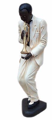 Sängerin Figur Jazz Musiker Skulptur Jazzfigur Afrika Musik Werbefigur Dekofigur
