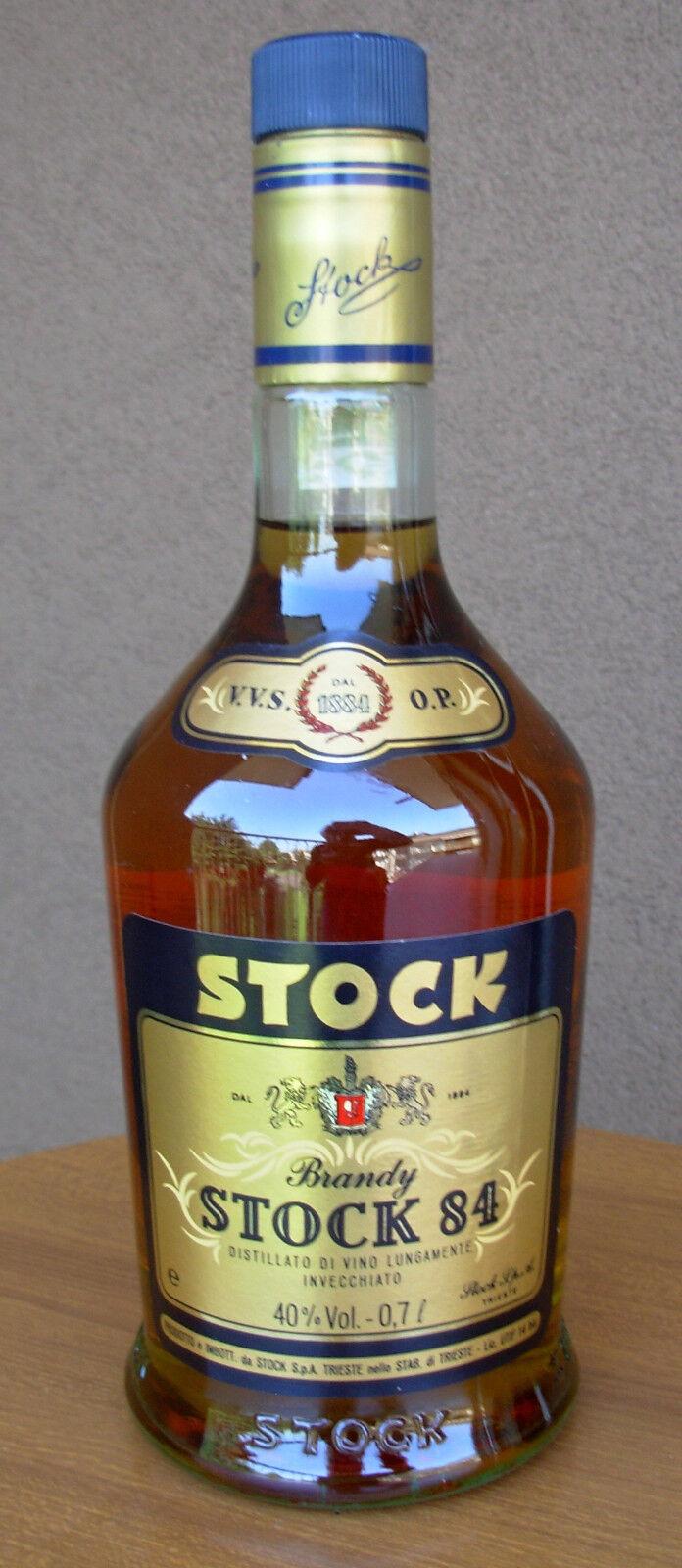 Brandy Stock 84 VVSOP  0,7 Litri 40% Vol  Stock Trieste  Vintage