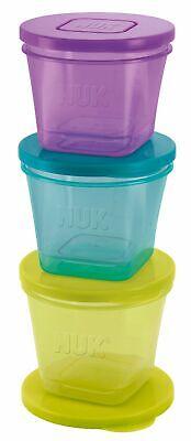 NUK Fresh Foods Frischebehälter zur Aufbewahrung von Babynahrung in 3